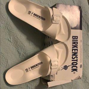 Birkenstock's one strap sandals